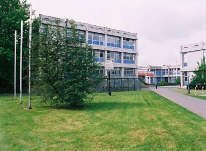 Bevor die Friedensuhr nach Steinfurt kam, sah der Zugang zu unserem Campus so aus. (Foto: Wolfgang Göbel)