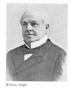 Portraitbild von Wilhelm Hüffer