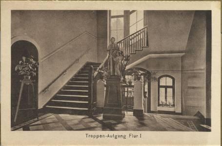 Ein Treppenhaus in den 1930er Jahren