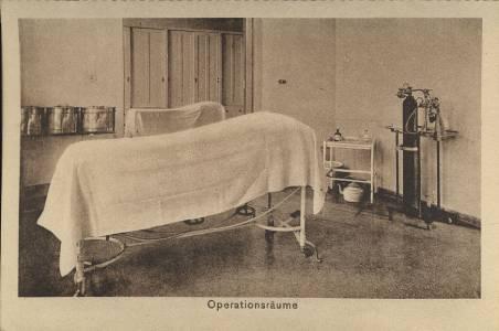 Ein Operationsraum der 30er Jahre