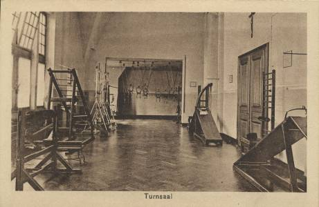 Ein alter Turnsaal aus den 1930er Jahren