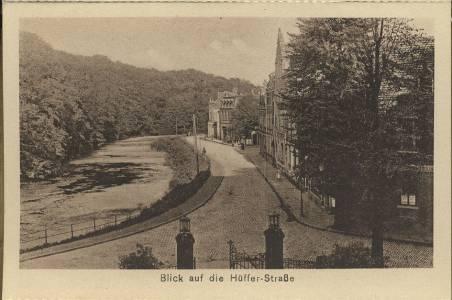 Blick auf die Hüfferstraße - 1930er Jahre