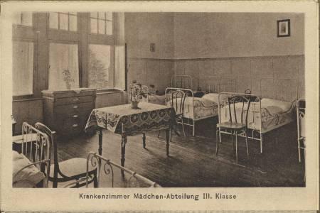 Ein Krankenzimmer in den 1930er Jahren