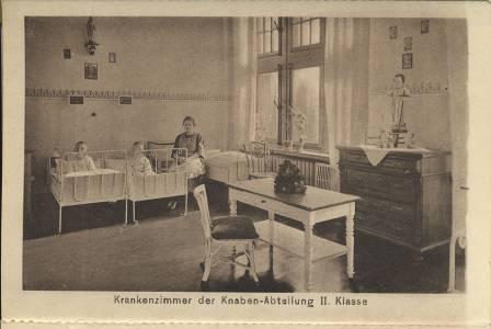 Ein Krankenzimmer - 30er Jahre