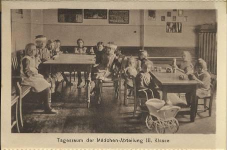 Innenansicht eines Zimmers in den 1930er Jahren