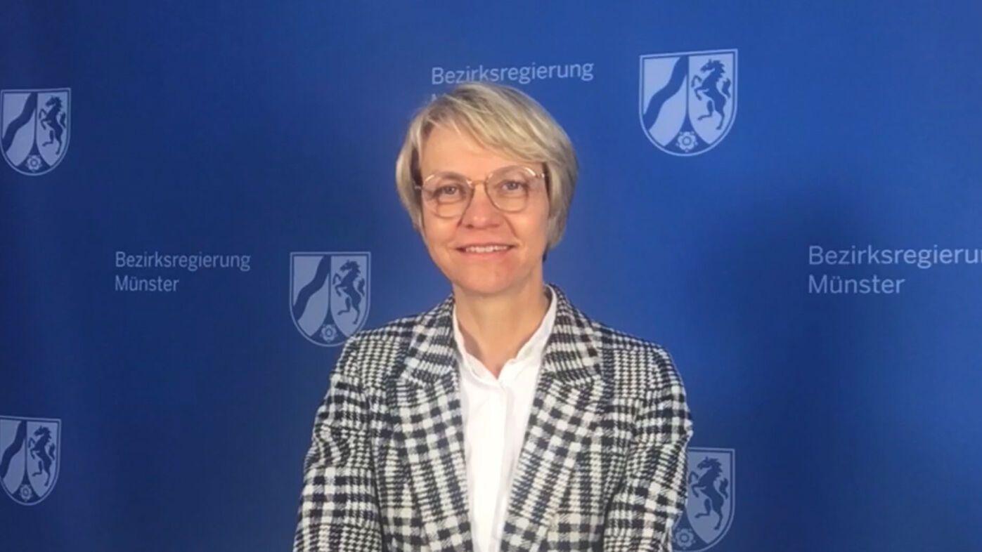 Grußwort von Regierungspräsidentin Dorothee Feller zum 50. Geburtstag der FH Münster