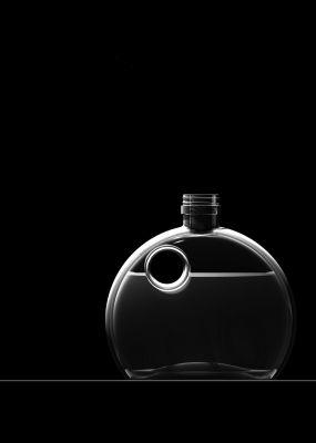 """Erfolg schon bei der Premiere des Kurses an der MSD: die Ölflasche """"Diskus"""" von Markus Brock. (Computerrendering: Markus Brock)"""