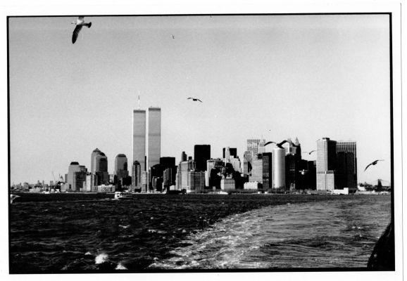 Erinnerungsstück aus der Projektwoche in New York. (Foto: Prof. Nobert Nowotsch)