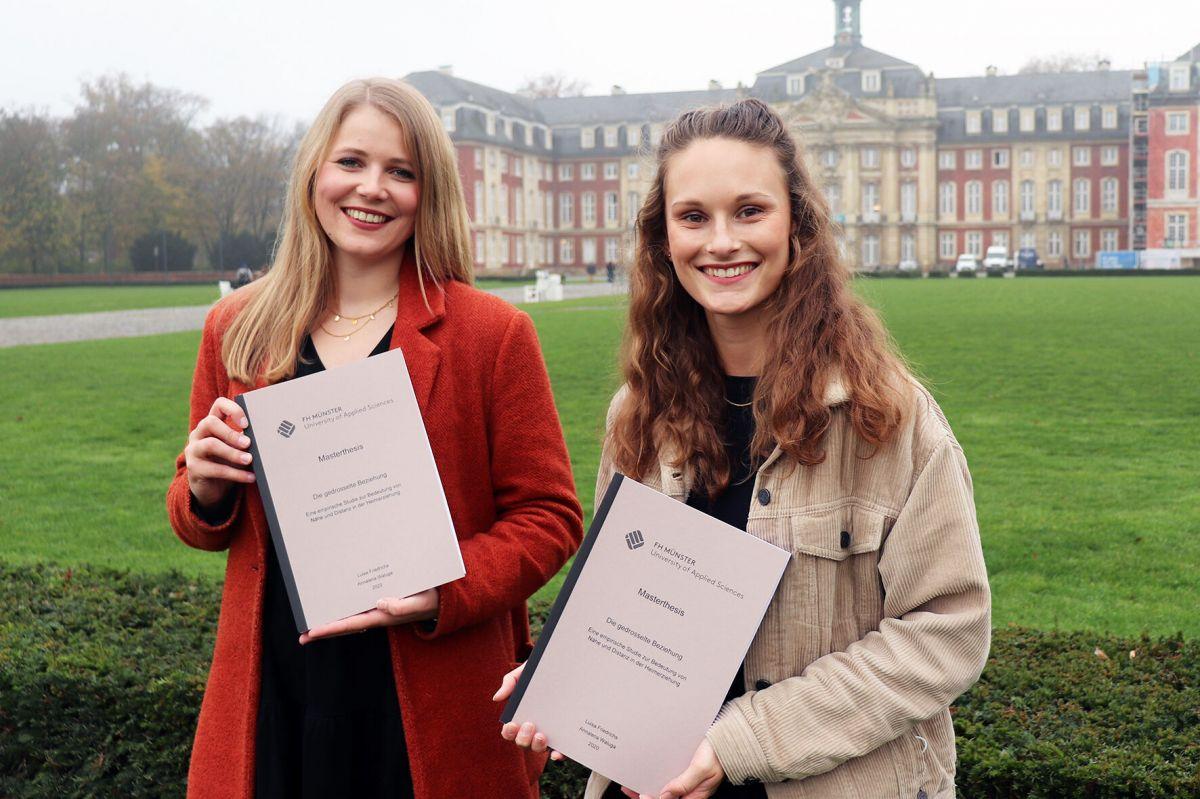 Annalena Waluga und Luisa Friedrichs (Foto: privat)