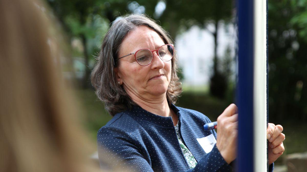 Christa Fischer (Foto: Foto: FH Münster/Dzemila Muratovic)