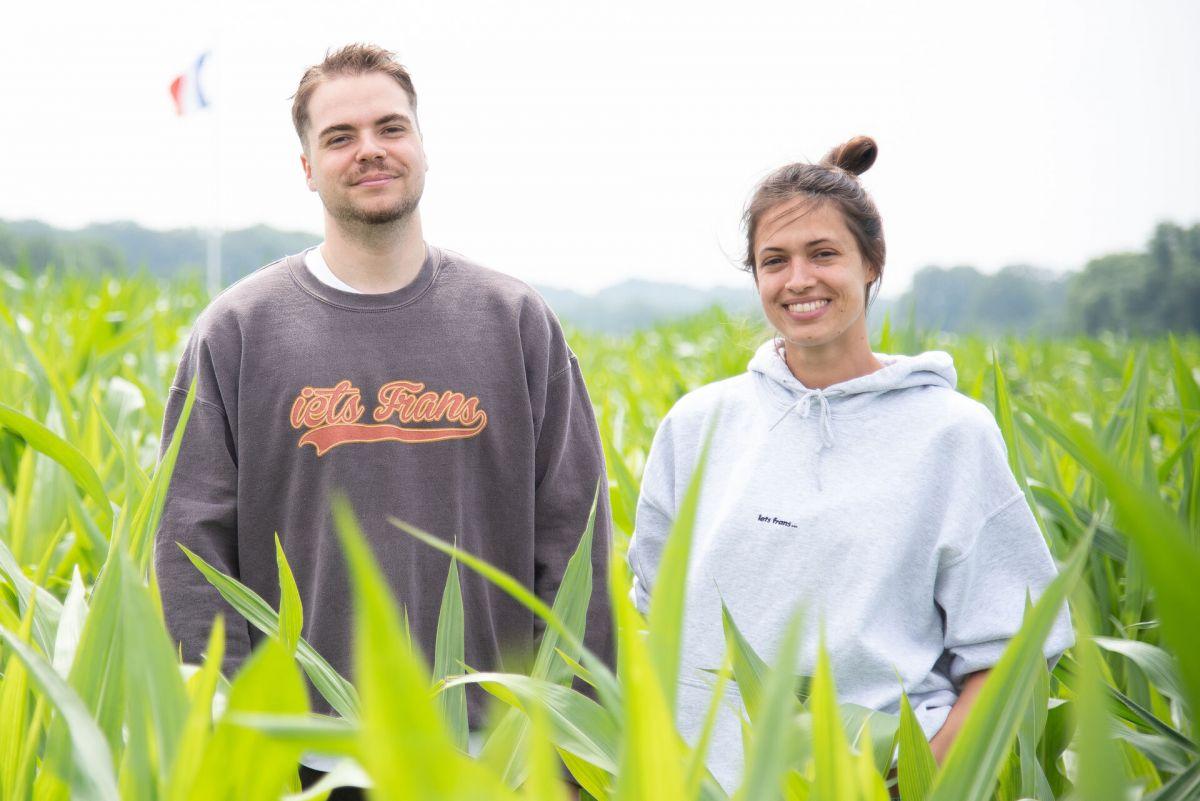 Jonas Ritgen und Mira Schneider