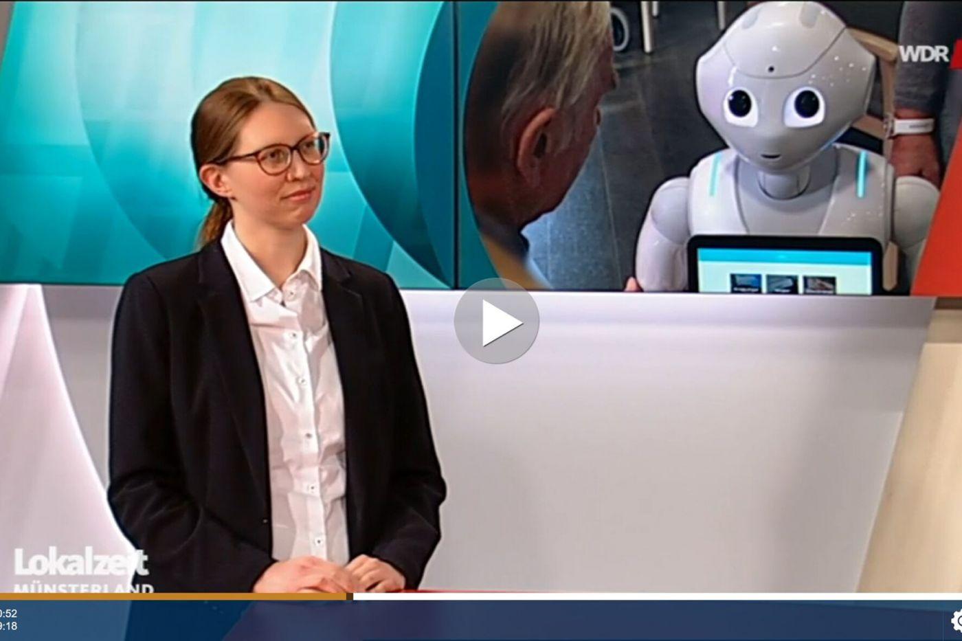 Dr. Gesa Linnemann (Foto: WDR (Screenshot: Stefanie Gosejohann))