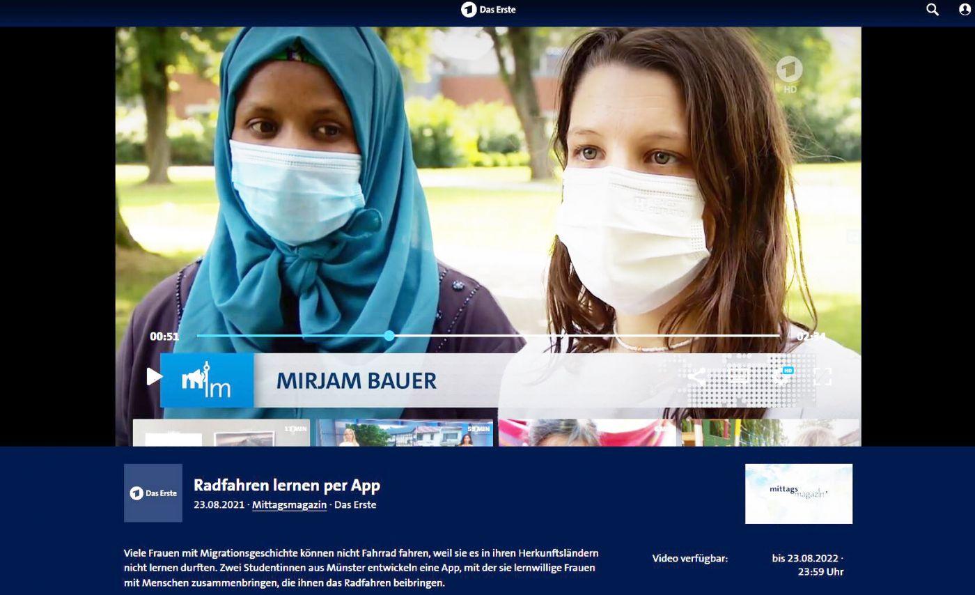Screenshot: ARD-Mittagsmagazin
