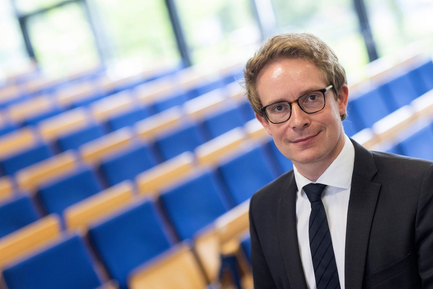 Prof. Dr. Buchmüller (Foto: FH Münster/Wilfrired Gerharz )
